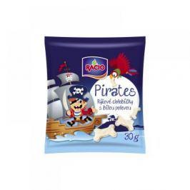 RACIO Pirates Rýžové chlebíčky s bílou polevou jogurtová příchuť 30g
