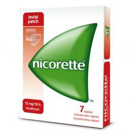 NICORETTE INVISIPATCH 7 X 15 MG Náplast