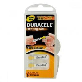 Baterie do naslouchadla Duracell DA10P6 Easy Tab 6ks Baterie primární