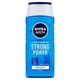 NIVEA MEN Strong Power Šampon pro muže 250 ml Vlasové šampony