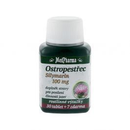 MedPharma Ostropestřec (Silymarin 100mg) tbl.37 Vitamíny a minerály