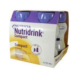 NUTRIDRINK COMPACT S PŘÍCHUTÍ BANÁNOVOU 4X125ML Roztok Léky volně prodejné