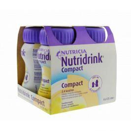 NUTRIDRINK COMPACT S PŘÍCHUTÍ VANILKOVOU 4X125ML Roztok Léky volně prodejné