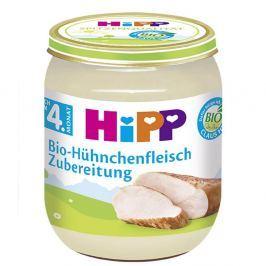 HIPP BIO maso kuřecí 125g CZ6020 Maso-zeleninové příkrmy