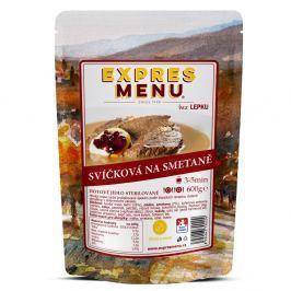 Expres Menu Svíčková na smetaně 600g Konzervované maso a hotová jídla