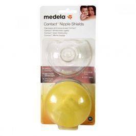 MEDELA kontaktní kojicí kloboučky velikost M 1pár Prsní tampóny