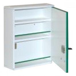 Lékárnička ALFA dřevěná ALFA A300 závěsná 37x30x10 Lékárničky