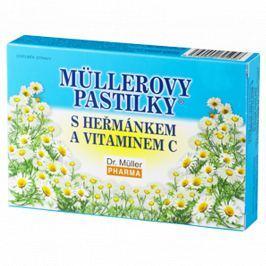 Müllerovy pastilky s heřmánkem 12ks Vitamíny a minerály