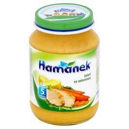 Hamánek telecí se zeleninou 190 g Maso-zeleninové příkrmy