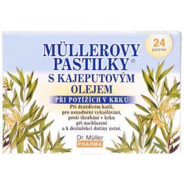 DR.MULLER Pastilky kajeputový olej 24ks Vitamíny a minerály