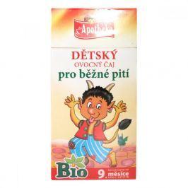Apotheke Dětský čaj BIO ovocný 20x2g Dětské čajové nápoje