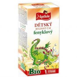 Apotheke Dětský čaj Bio fenykl 20x1.5g