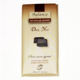Balance hořká čokoláda bez přidaného cukru 100g Čokolády