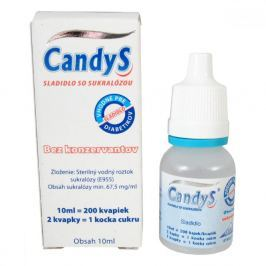 CandyS 10ml sladidlo se sukralózou Dia sladidla