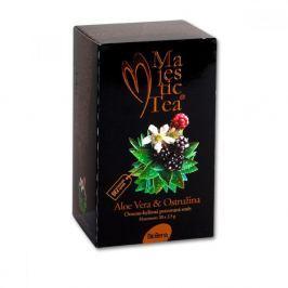 BIOGENA Čaj Majestic tea aloe vera + ostružina 20x2.5 g Bylinné čaje