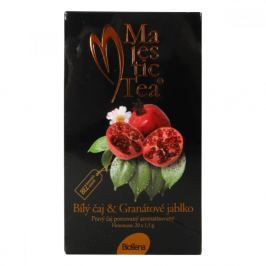 BIOGENA Majestic Tea Bílý čaj + Granátové jablko 20x1,5 g Čaje