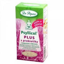 DR. POPOV Psyllicol PLUS s probiotiky 100 g Doplňky stravy
