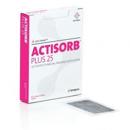Actisorb Plus 10.5x10.5cm 10ks Obvazové materiály