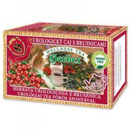 HERBEX Čaj urologický s brusinkami 20x3 g Bylinné čaje