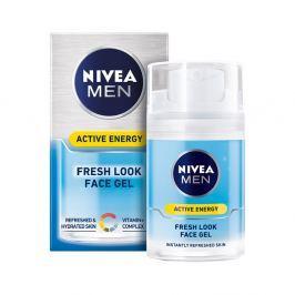 NIVEA MEN Q10 Energizující gel 50 ml Pleťové krémy