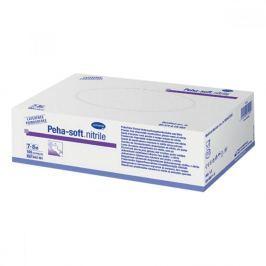 Rukavice vyšetřovací Peha-Soft NITRILE bez pudru nesterilní S 100ks Pracovní rukavice