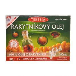 Terezia Company Rakytníkový olej 100% 50 + 10 tobolek zdarma Vitamíny a minerály
