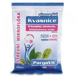 PargaVit Pivovarské kvasnice Bifi Aktiv tbl.250 Doplňky stravy