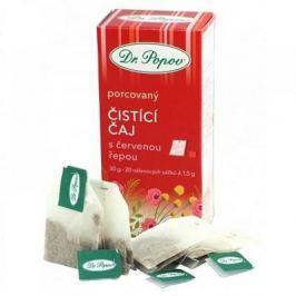 DR. POPOV Čistící čaj s červenou řepou 30 g Bylinné čaje