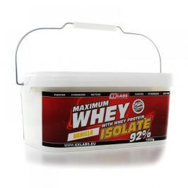 XXTREME NUTRITION Maximum Whey Protein Isolate 1000g vanilka - při nákupu 2 kusů Dárek BCAA 211 Malate 90 kapslí ZDARMA Proteiny