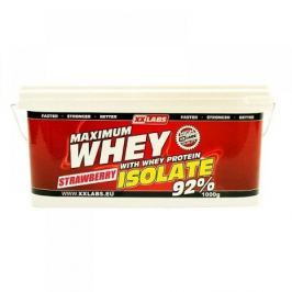 XXTREME NUTRITION Maximum Whey Protein Isolate 1000 g jahoda - při nákupu 2 kusů Dárek BCAA 211 Malate 90 kapslí ZDARMA