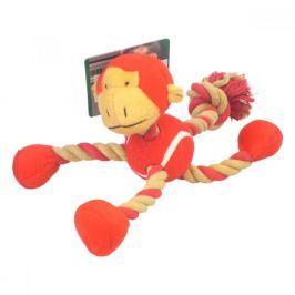 KARLIE Plyšová hračka pro psa Zvíře s provazy 1 ks