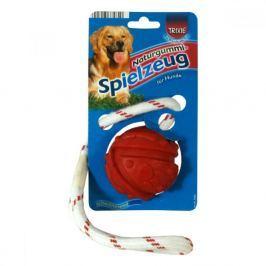 Hračka pes Míč plovoucí na na šňůrce 7cm/35cm Trixie