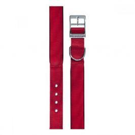 Obojek nylon DAYTONA C 35cmx15mm červený FP 1ks Obojky pro psy
