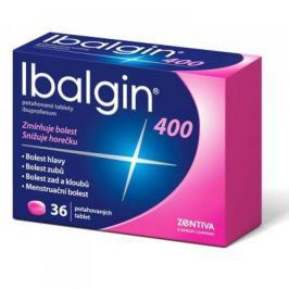 IBALGIN 400 Potahované tablety 36 x 400 mg Léky volně prodejné