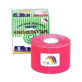 Tejpovací páska TEMTEX kinesiotape růžová 5cm x 5m