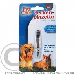 Kleště na klíšťata kovové malé 7cm 1ks Trixie Antiparazitika pro psy