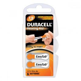 Baterie Duracell DA13 6ks