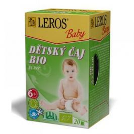LEROS BABY Dětský čaj BIO Bylinný 20x2 g
