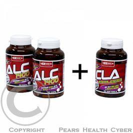 XXTREME NUTRITION ALC 1400 60tbl. + ALC 1400 60cps. + CLA Ethyl Ester 60 tablet ZDARMA