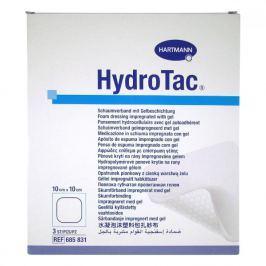 Kompres Hydrotac sterilní 10x10cm/3ks