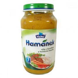 Hamánek rýže s karotkou a hovězími kousky 230 g