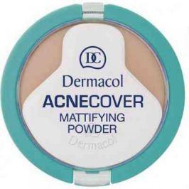 Dermacol Acnecover Mattifying Powder kompaktní pudr Sand 11 g