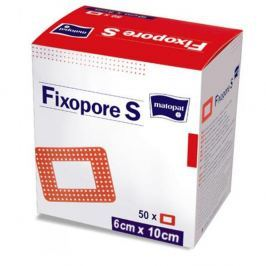Fixopore S 6 x 10 cm á 50 ks. sterilní náplast
