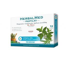 HERBALMED Dr.Weiss pastilky Eukalypt, máta, vitamín C 12 pastilek