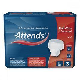 Attends kalhotky absorbční Pull-Ons Discreet 3L 10 kusů