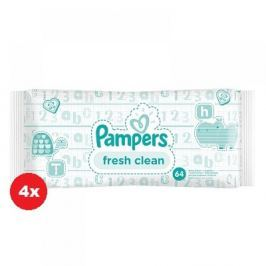 Pampers baby wipes Fresh 4 x 64 kusů
