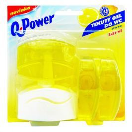 Q power tekutý závěs 3x55ml citron