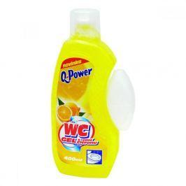 Q power wc gel 400ml citrus(žlutý)