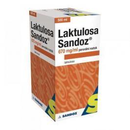 LAKTULOSA SANDOZ 670 MG/ML 1X500ML/335GM IIA Roztok