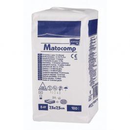 Matocomp 7.5 x 7.5cm 100ks komprese z gázy